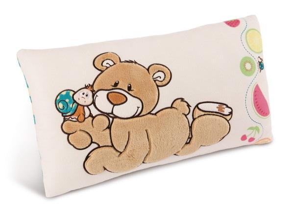 Rectangular cushion bear and snail Classic Bear