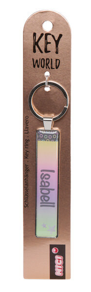 Keyring Key World 'Isabell'
