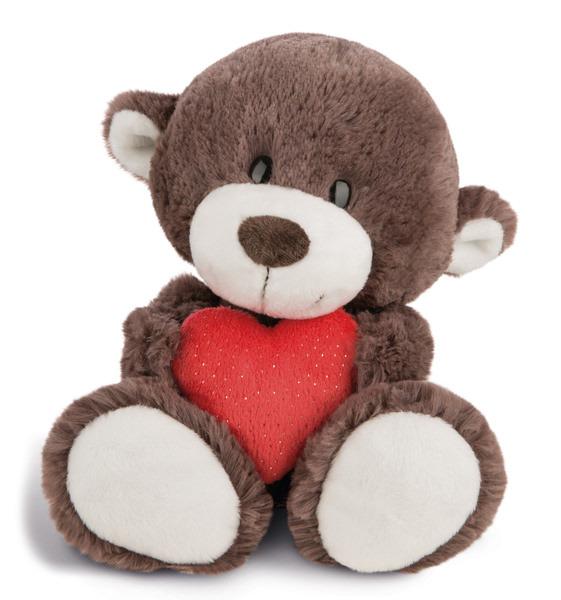 Kuscheltier Love Bär Junge mit Herz