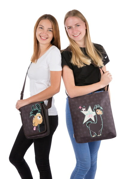 "Tote bag llama Lorenzo ""All you need is llama"""