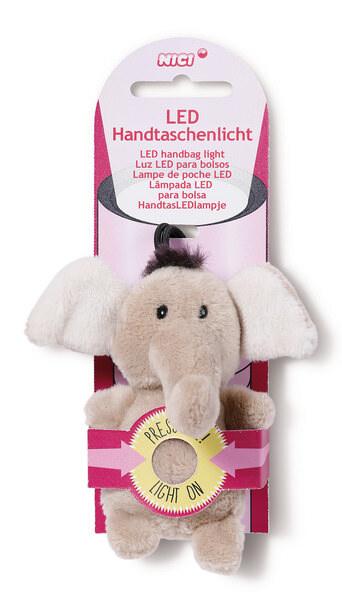 LED plush handbag light Elephant El-Frido