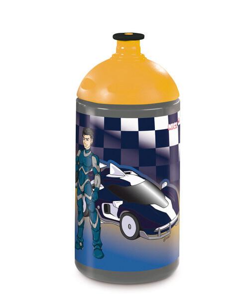 Trinkflasche Autorennen