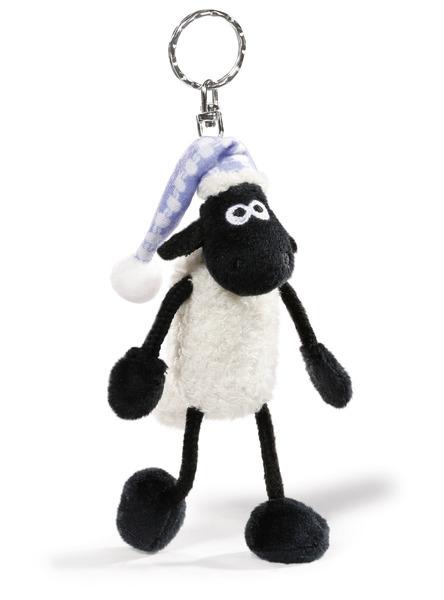 Schlüsselanhänger Shaun das Schaf mit Schlafmütze