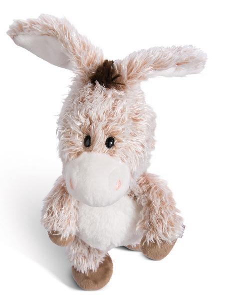 Cuddly toy donkey
