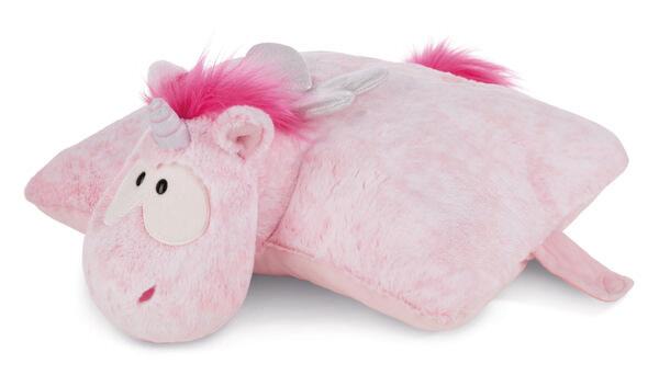 Cuddly toy cushion unicorn Pink Harmony