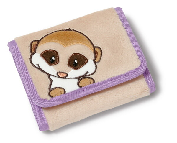 Purse NICI meerkat with child