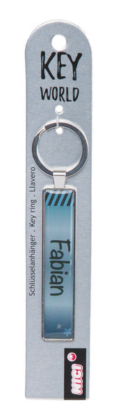 Keyring Key World 'Fabian'