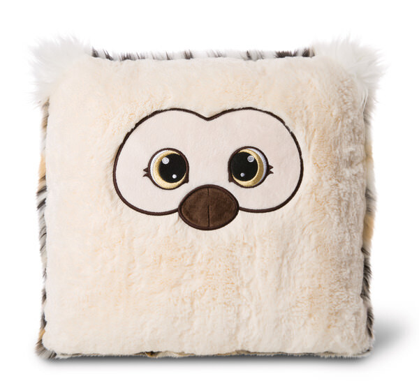 Pillow owl Aurina square