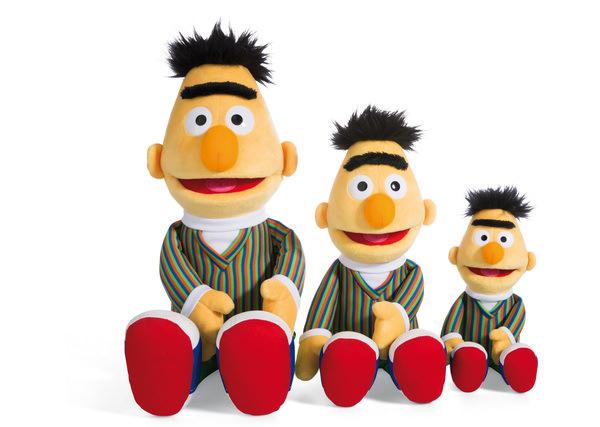 Plüsch-Puppe Bert