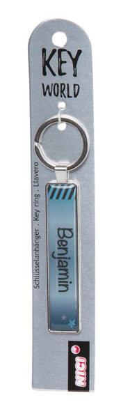 Keyring Key World 'Benjamin'