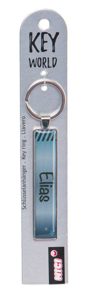 Keyring Key World 'Elias'