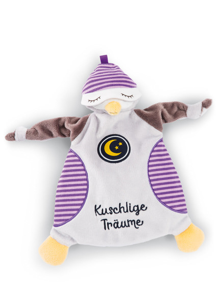"Comforter Schlafmütze owl Olafina ""Kuschlige Träume"""