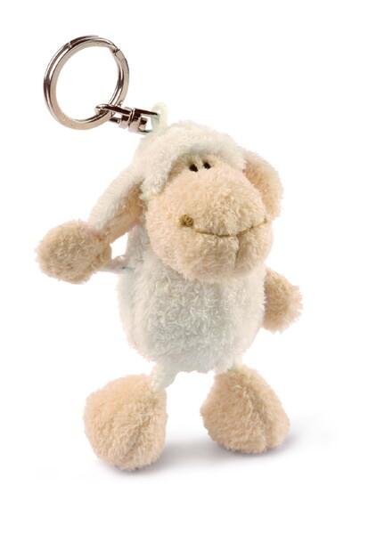 Schlüsselanhänger Jolly Mäh Schaf weiß