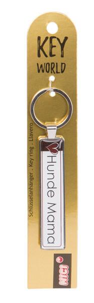 Schlüsselanhänger Key World 'Hunde Mama'