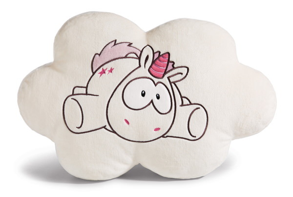 Cloud-shaped cushion Theodor and Friends unicorn Theodor