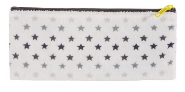Pouch with Smiley and stars