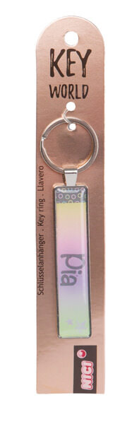 Schlüsselanhänger Key World 'Pia'
