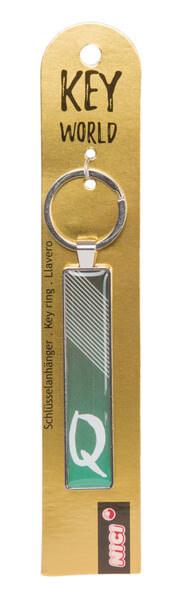 Schlüsselanhänger Key World 'Q'