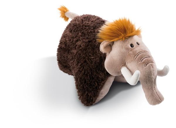 Kuscheltierkissen Mammut