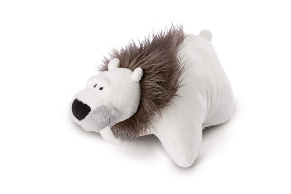 Cuddly toy cushion sabre-toothed polar bear Thorben