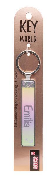 Schlüsselanhänger Key World 'Emilia'