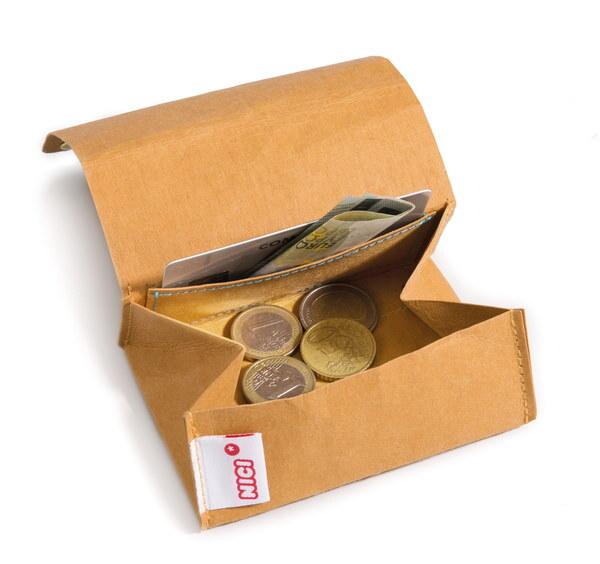 Geldbeutel Erdmännchen aus Kunstleder