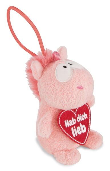 "Pendant unicorn Merry Heart ""Hab dich lieb"""