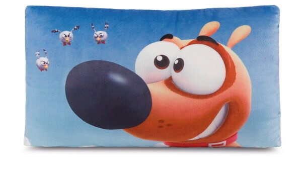 Rectangular cushion Pat the dog