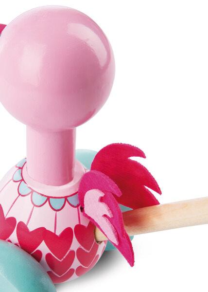 Schiebetier Flamingo