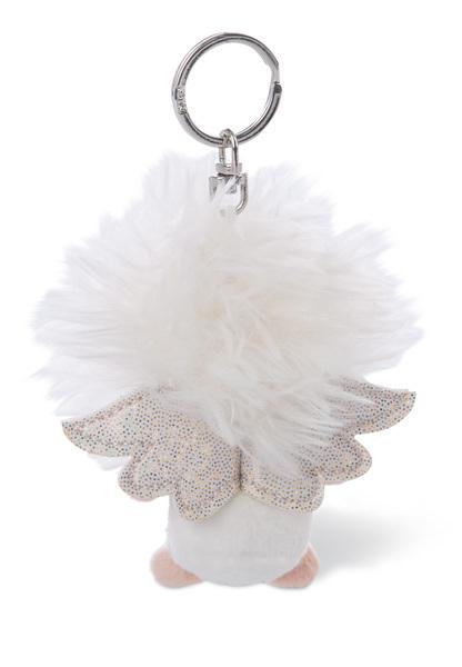 Keyring guardian angel with symbol horseshoe