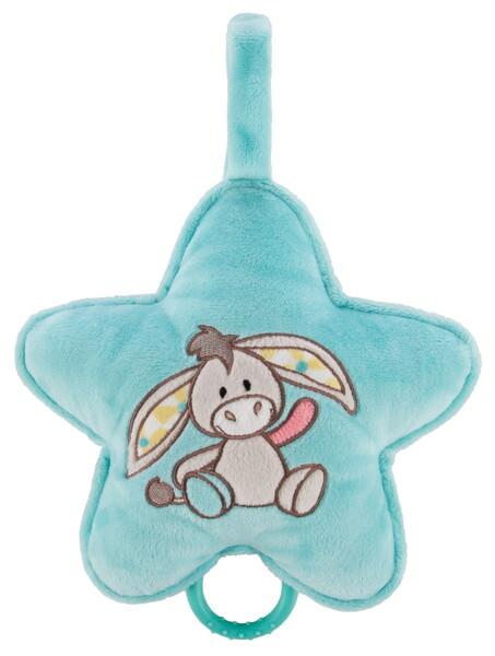 Spieluhr Stern mit Esel Muli