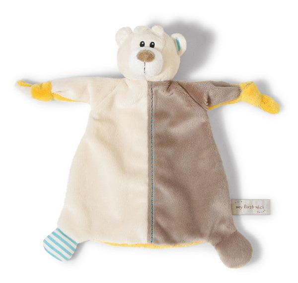 Schmusetuch Bär Taps beige/braun