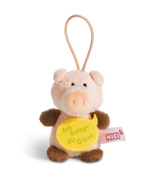 """Anhänger Schwein """"Ich bringe dir Glück"""""""