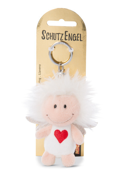 Keyring guardian angel with symbol heart