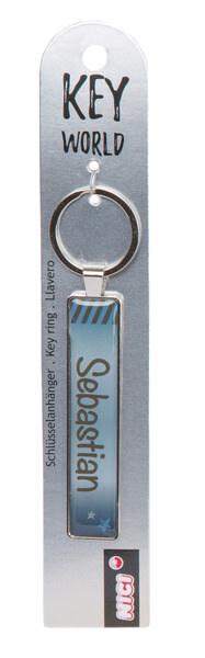Schlüsselanhänger Key World 'Sebastian'
