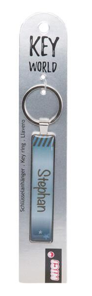 Schlüsselanhänger Key World 'Stephan'