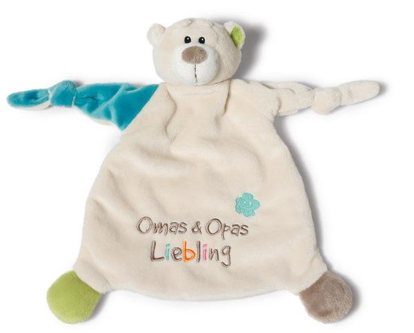 """Schmusetuch Bär """"Omas&Opas Liebling"""""""