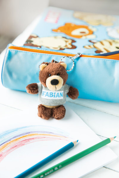Keyring bear Fabian