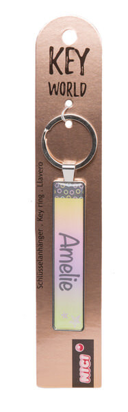 Keyring Key World 'Amelie'