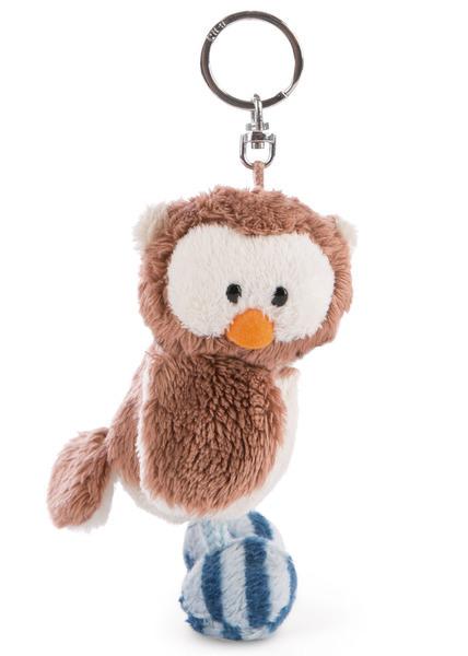 Key Ring Owl Oscar with turnable head