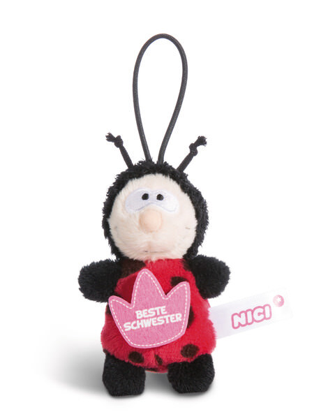 "Pendant ladybug ""Beste Schwester"""