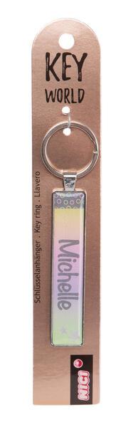 Keyring Key World 'Michelle'