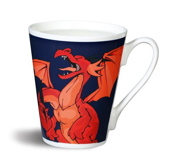Zauber-Tasse Drachen