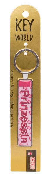 Schlüsselanhänger Key World 'Prinzessin'