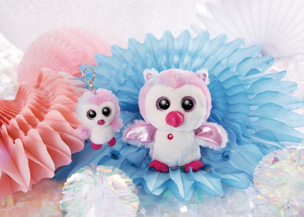 GLUBSCHIS keyring Owl Princess Holly