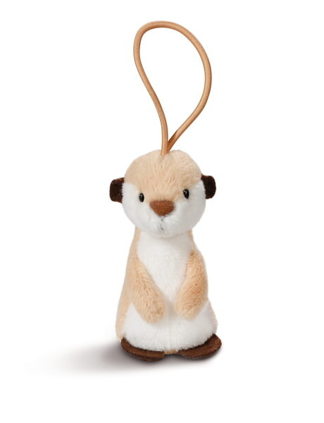 Pendant meerkat with elastic loop