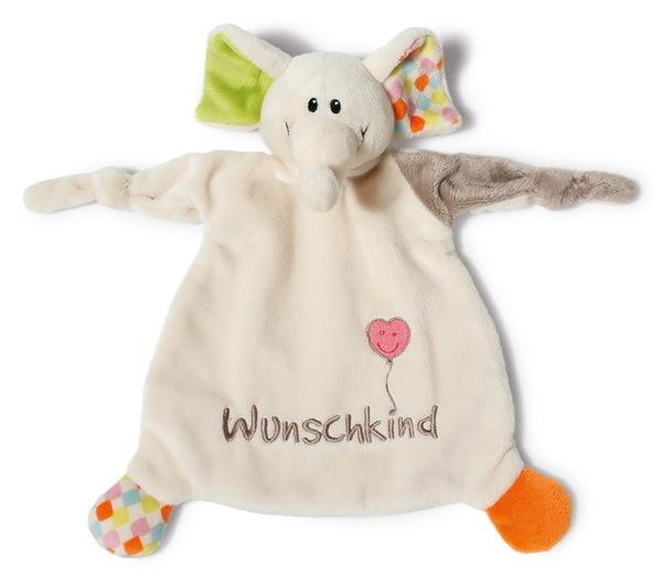 """Schmusetuch Elefant """"Wunschkind"""""""