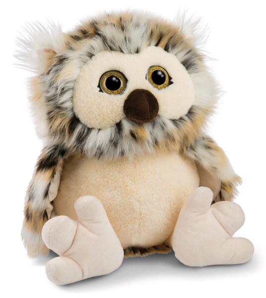Cuddly toy owl Aurina 30cm