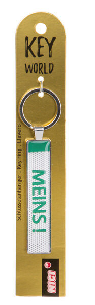 Keyring Key World 'Meins'