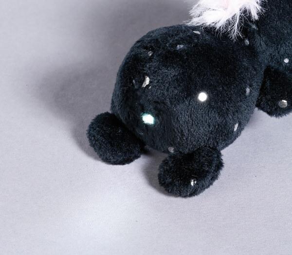 LED plush handbag light Unicorn Carbon Flash